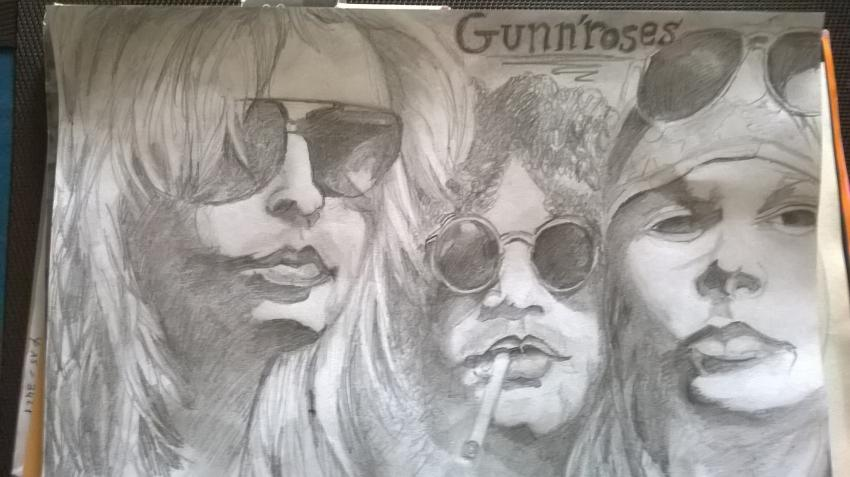 Guns N' Roses by noisette